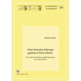 Puits funéraire d'époque gauloise à Paris (Sénat).