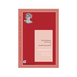 Archéologie des jardins. Analyse des espaces et méthodes d'approche.