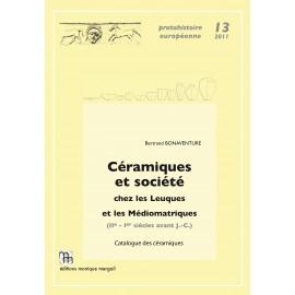 Céramiques et société chez les Leuques et les Médiomatriques.