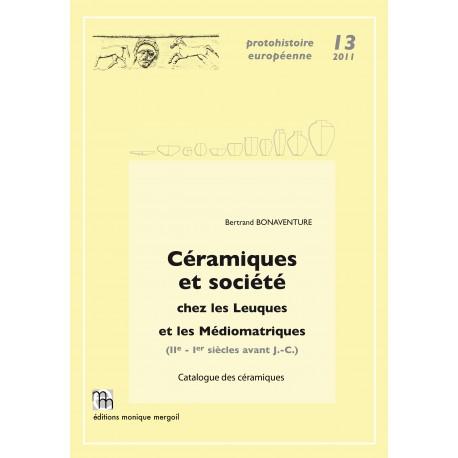 Céramiques et société chez les Leuques et les Médiomatriques