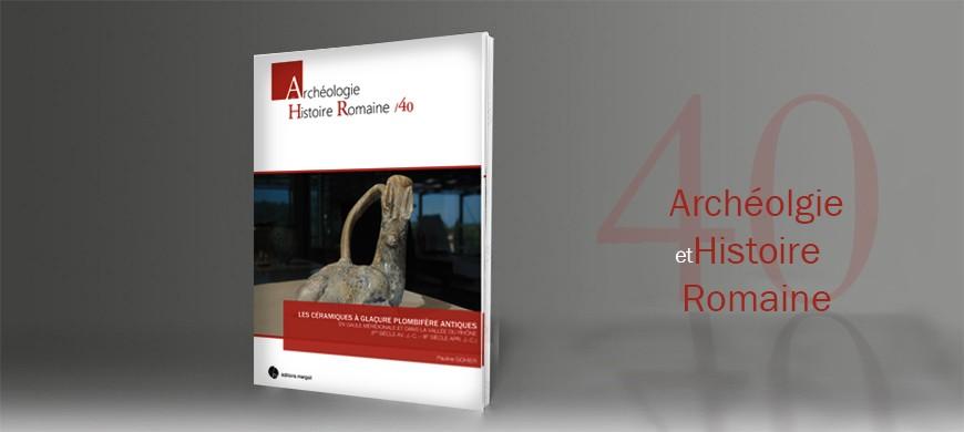 Editions Mergoil, maison d'éditions spécialisée en archéologie, céramique glacure plombifere